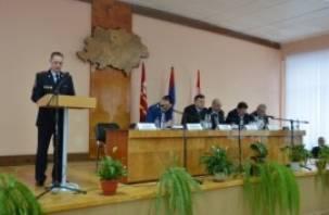 Жители Дорогобужа встретились с руководителем областного УМВД