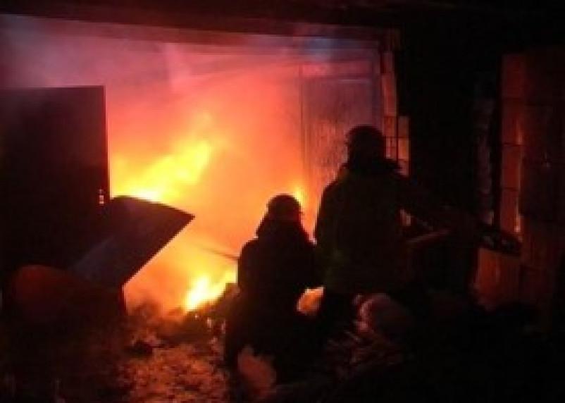 В Смоленском районе при пожаре погибла женщина