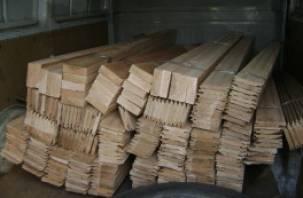 25 кубометров пиломатериалов вернули в Беларусь