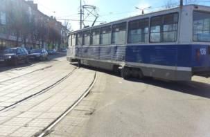 В Смоленске продолжается «трамвайный дрифт»