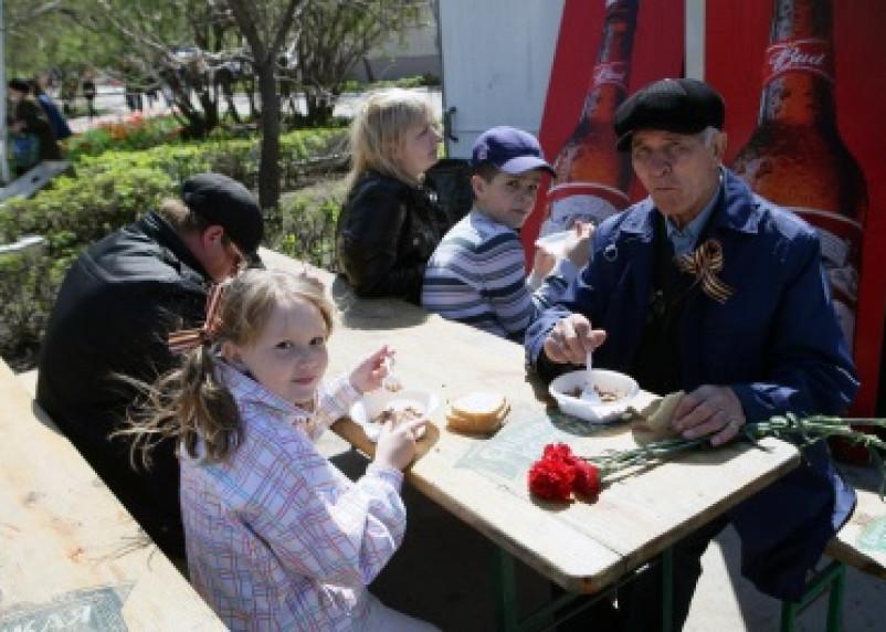 В день Победы уличная торговля – без алкоголя