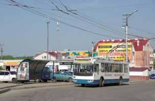 В Смоленске запустили троллейбусы на Киселевку