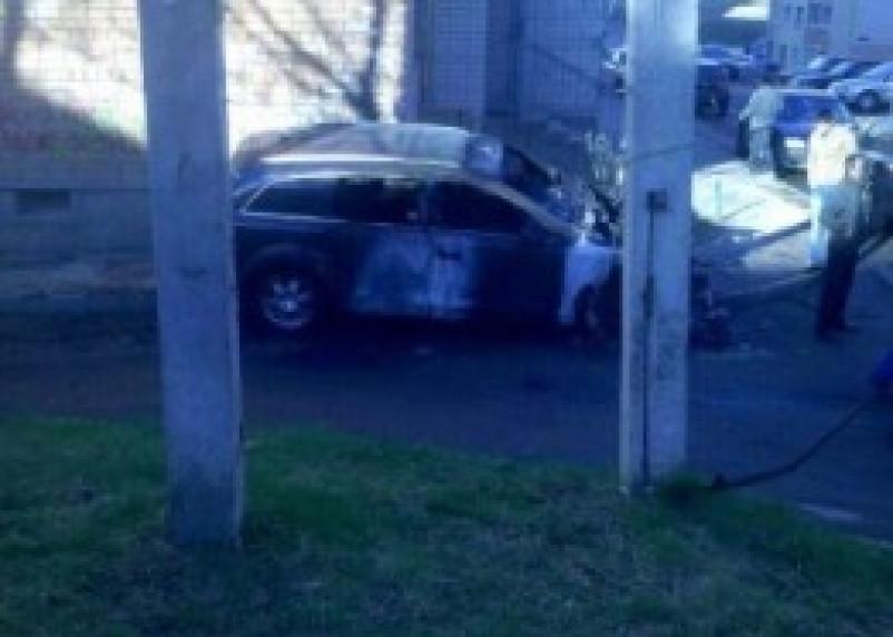 В Смоленске за ночь сгорели несколько автомобилей