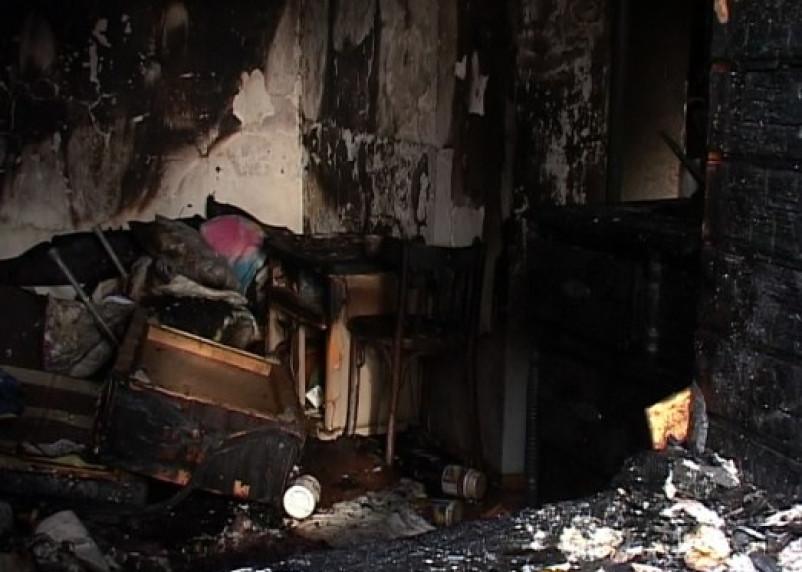 Очередное огненное ЧП в Ершичском районе