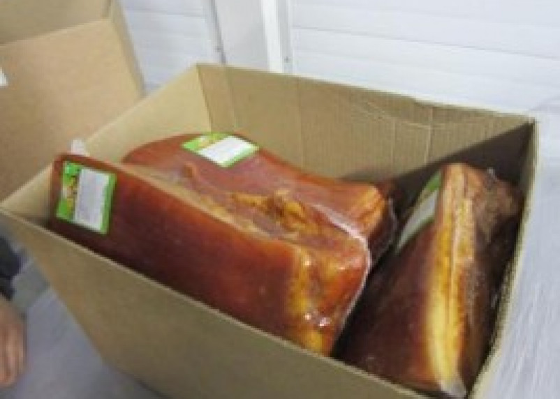 Через Смоленск пытались провести 13 тонн бельгийской свинины по подложным документам