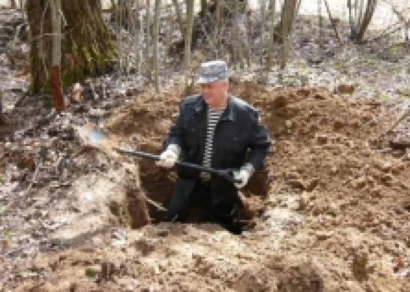 Поисковики отрядов имени «Феодора Стратилата» и «Вазуза» подняли останки 6 воинов
