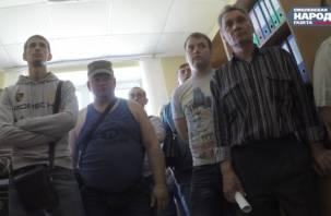 Рабочие смоленской дорожно-строительной компании требуют выплаты зарплаты