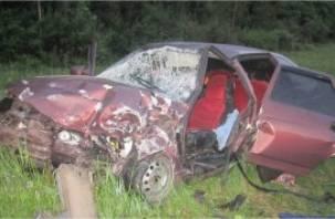 В Вяземском районе в ДТП погиб человек