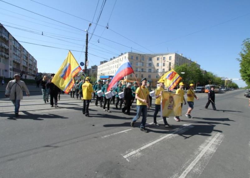 В Смоленске прошли первомайские демонстрации
