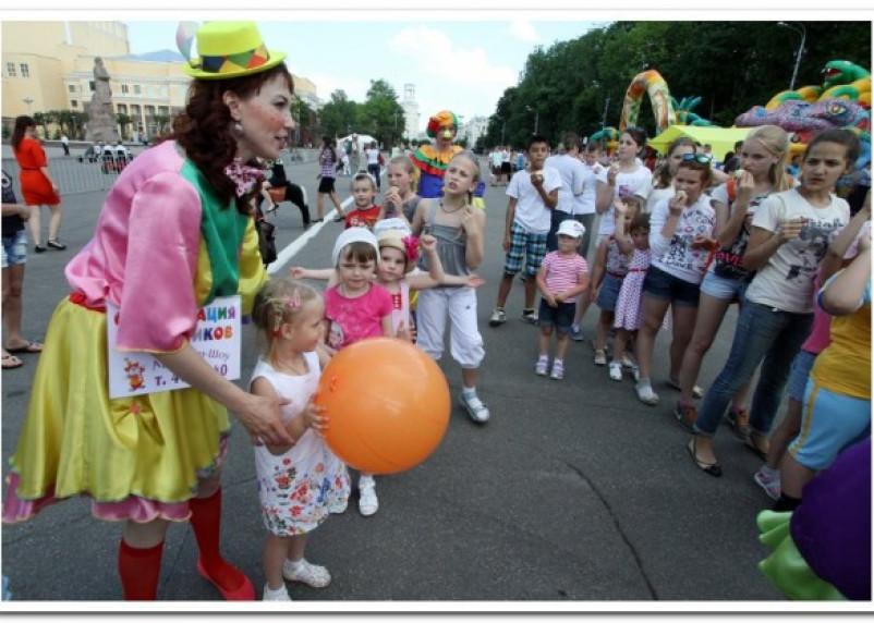 В Смоленске прошел детский благотворительный праздник