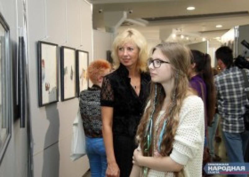 В КВЦ имени Тенишевых открылась выставка «Молодое искусство. Смоленск — Хаген»