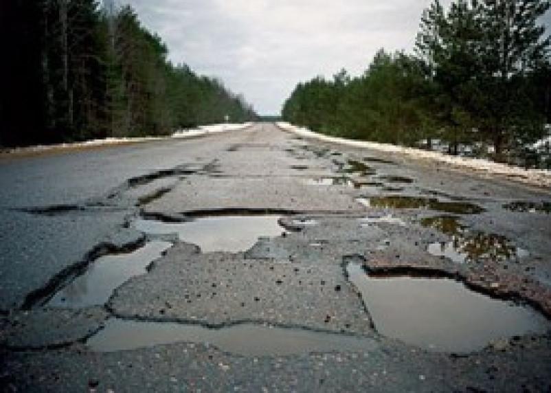 В 2014 году на ремонт и строительство дорог Смоленщины выделено больше миллиарда рублей