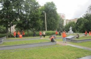 В Смоленске заработали трудовые отряды подростков