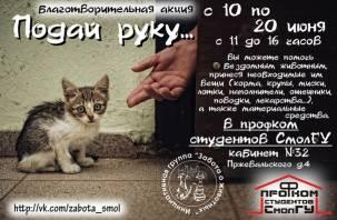 В Смоленске стартовала благотворительная акция «Подай руку…»