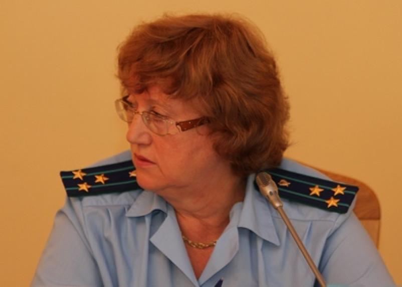 Старший помощник смоленского прокурора получила государственную награду