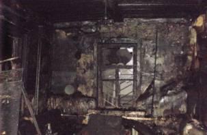 В результате пожара в Демидове погиб человек