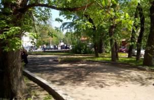 Сквер на площади Победы облагородят?