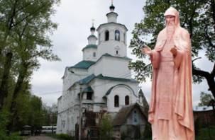 Святой Авраамий Смоленский будет отлит в бронзе