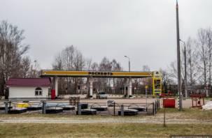 Заправки «Роснефть» уходят из районов Смоленской области