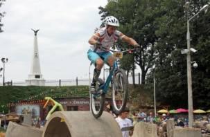 Чемпионат по велотриалу впервые прошел в Смоленске