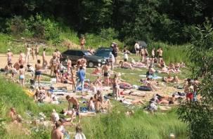 На Александровском озере под Смоленском утонул мужчина