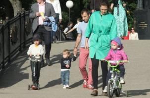 РИА-рейтинг: больше трех детей загонит смоленскую семью в «минус»