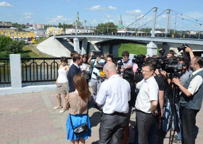Набережная Днепра в Смоленске официально сдана в эксплуатацию