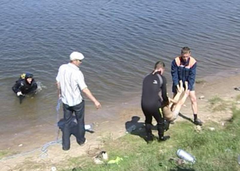 В Ельнинском районе Смоленской области утонул мужчина