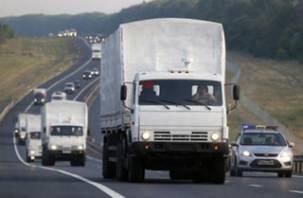 Водитель-смолянин в гуманитарном конвое