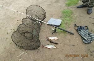 За запрещенную рыбалку – штраф и обязательные работы