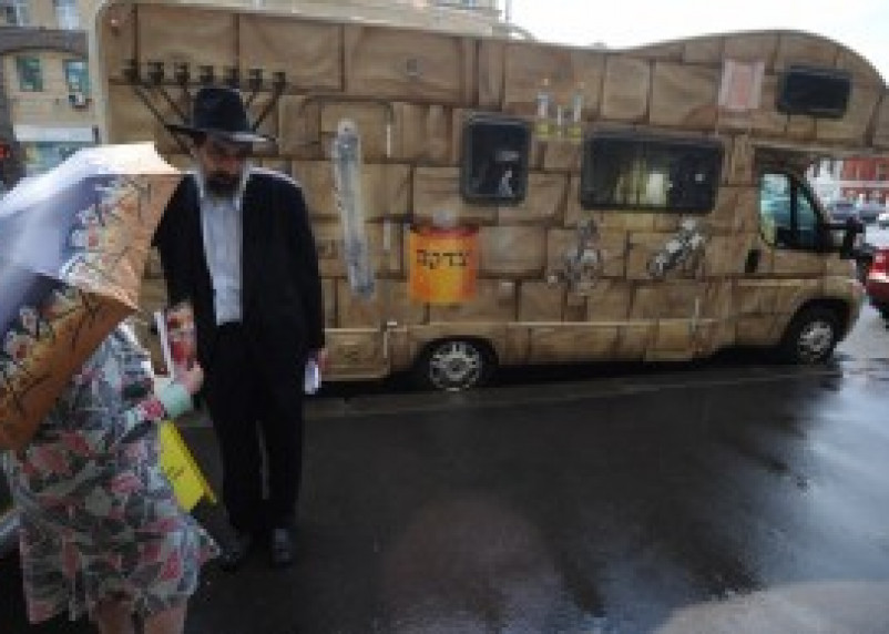 В Смоленск на передвижной синагоге прибудут раввины