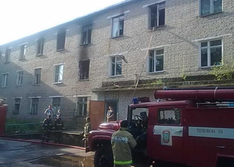 Поджигателя Дорогобужской больницы арестовали