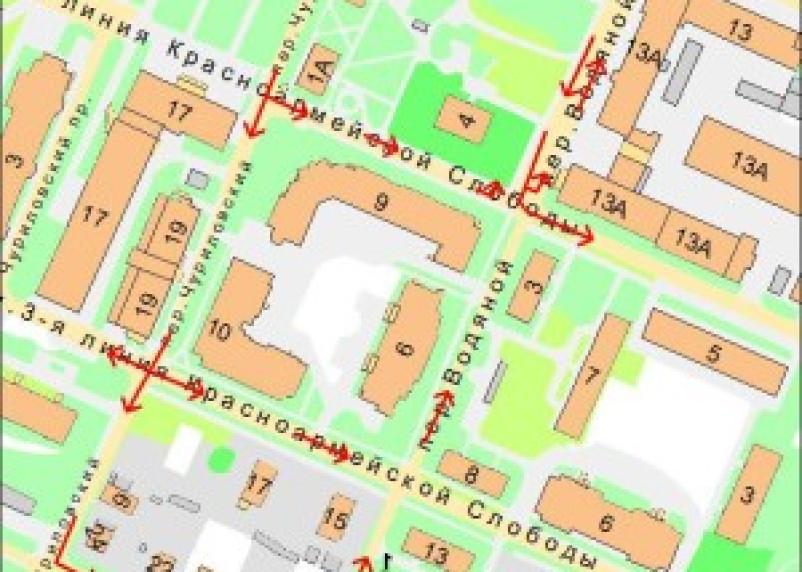 В центре Смоленске изменится схема движения транспорта