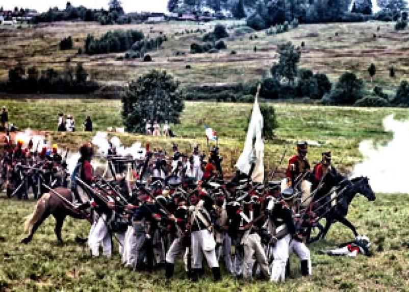 В Кардымовском районе показали сражение 1812 года