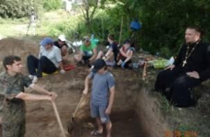На Смядыни работает студенческий археологический лагерь