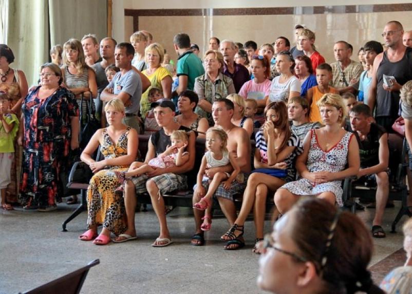 На Смоленщину прибыли около 400 жителей Украины