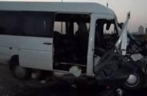 В страшной аварии с участием автобуса под Дорогобужем погибло три человека