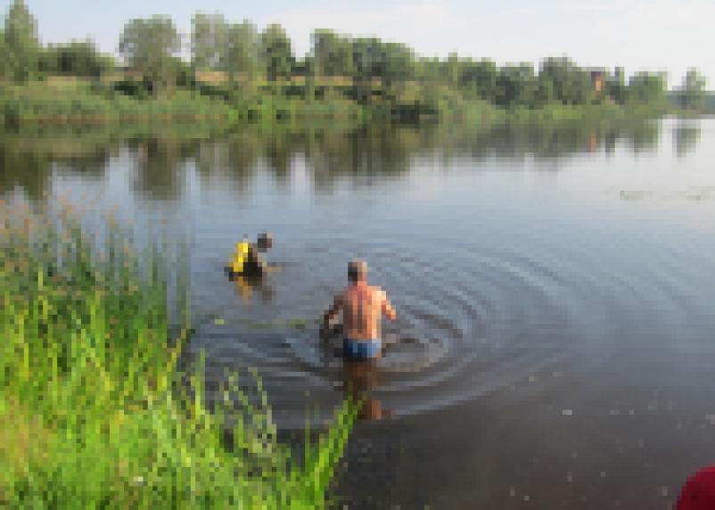 В Сафоновском районе утонул человек