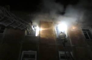 В Рославле при пожаре погиб мужчина