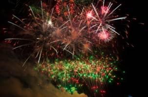 Смоленская область четвертый раз приняла фестиваль фейерверков