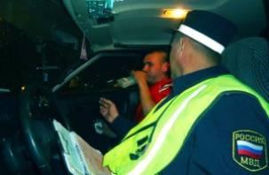 Сегодня ночью в Смоленске будут отлавливать пьяных водителей