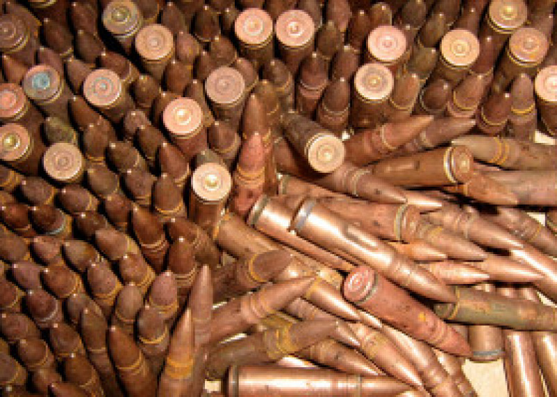 Житель Краснинского района хранил дома целый арсенал боеприпасов