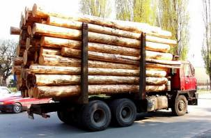 На трассе в Ярцевском районе в ДТП погиб водитель лесовоза