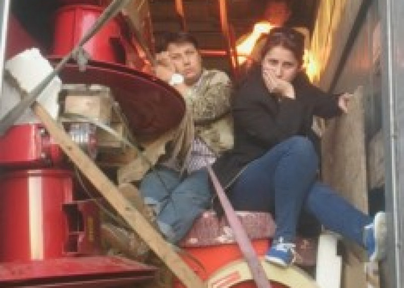 Белорусы провозили граждан Грузии в грузовике