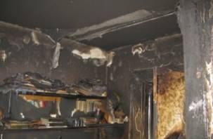 В Гагаринском районе уголовник поджег дом, в котором погибли супруги