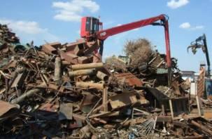 Смоленская полиция изъяла 136 тонн металлолома