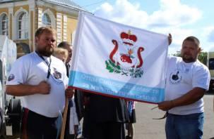 В Смоленске прошла акции «Отцы России за многодетную семью»