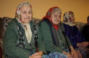 Смоленские добровольцы собирают подарки для пожилых подопечных
