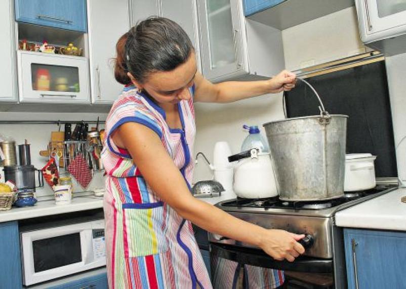 Горячую воду в микрорайоне Киселевка подключат до 29 сентября