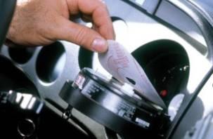 Водители грузовиков без тахографов будут штрафоваться